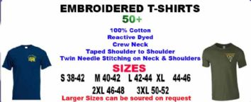 T-SHIRTS EMBROIDERED 50+